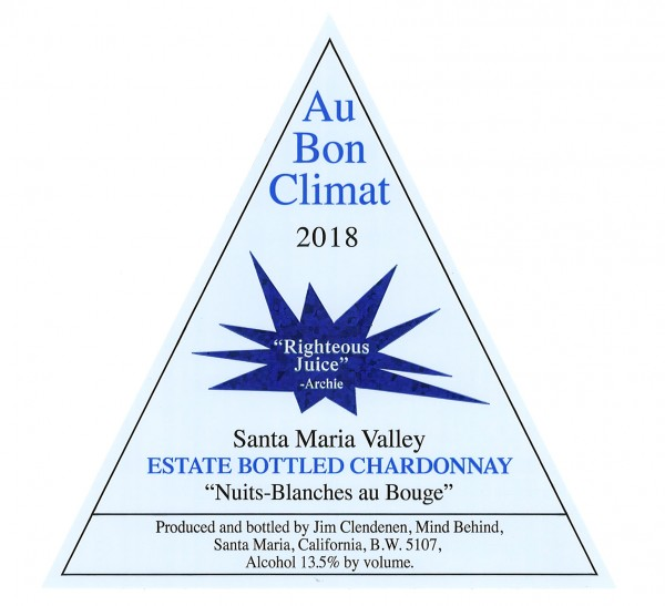 ABC - Nuits Blanches Chard 2018 - Label Image