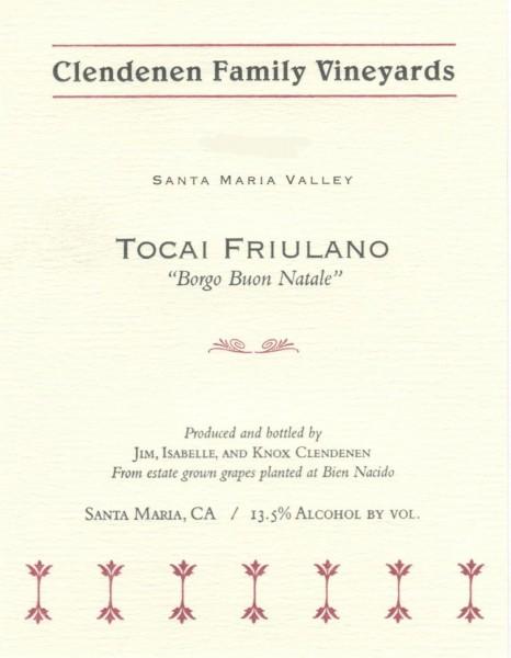 CFV - Tocai - Label