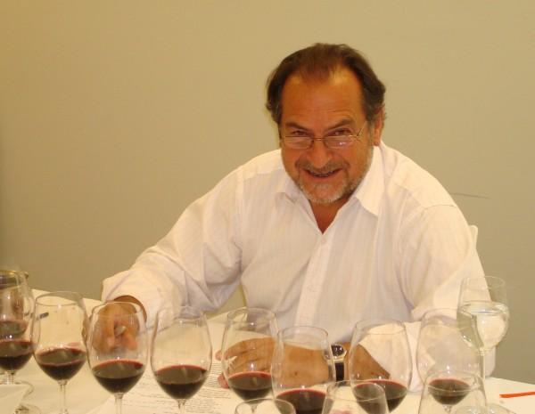 LS - Pedestal - Winemaker Pic - Michel Rolland