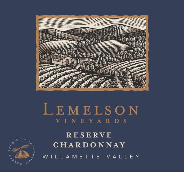 Lemelson - Chardonnay - Label