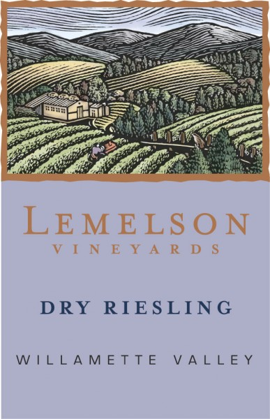 Lemelson - Riesling - Label