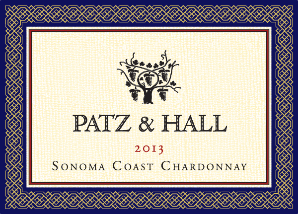 P&H - Sonoma Coast CH 2013 - Label