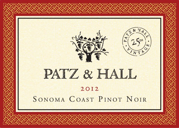 P&H - Sonoma Coast PN 2012 - Label