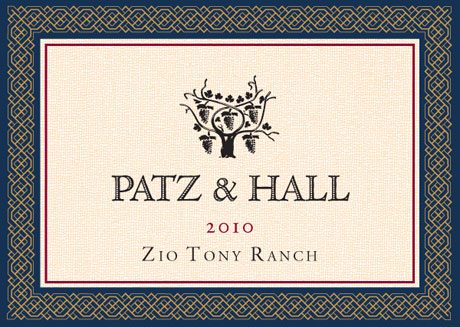 P&H - Zio Tony CH 2010 - Label
