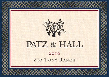 P&H - Zio Tony CH 2010 - Label
