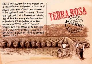 TDV - Terra Rosa Malbec - Label
