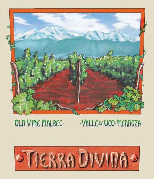 TDV - Tierra Divina Malbec - Label