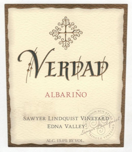 Verdad - SLV Albarino - Label